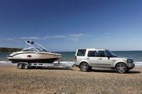 Land Rover Discovery 4 буксирует на премию