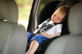 Поездка с ребенком на машине