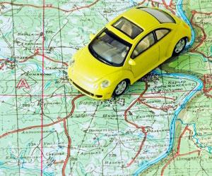 Путешествие по стране на авто
